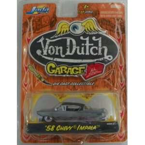 Jada Toys 1/64 Scale Diecast Von Dutch Garage Series Wave 2 1958 Chevy