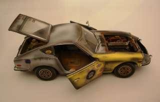 18 1970 DATSUN 240Z WEATHERED PARTS HOT RAT ROD PROJECT CAR