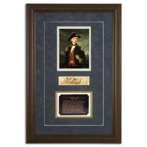 John Paul Jones Framed Document: Office Products