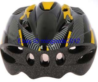 2012 new Bicycle helmet for Adult Mens Yellow carbon colour Cycling