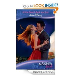 Bosss Beck and Call (Modern Heat): Anna Cleary:  Kindle