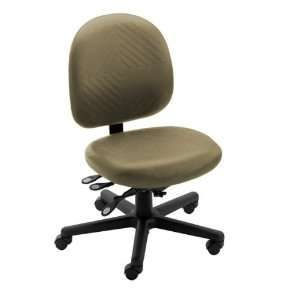 Triton Plus Mid Back Desk Height Chair with 300 lb