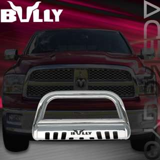 BULLY 09 2010 DODGE RAM 1500 STAINLESS STEEL BULL BAR