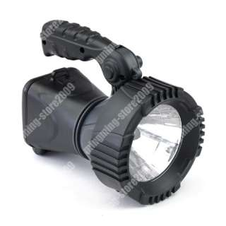 Solar Powered LED Spotlight Rechargeable Search Light