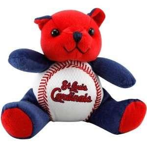 St. Louis Cardinals Plush Cheering Baseball Bear