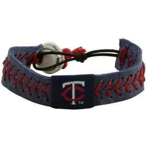 Minnesota Twins Navy Blue Baseball Bracelet