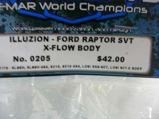 10 SCT Illuzion Ford Raptor SVT X Flow Body Clear JCO0205
