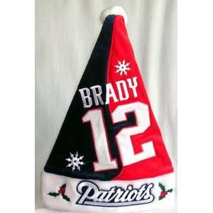 Tom Brady Patriots Santa Hat *SALE*