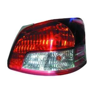 TOYOTA YARIS SEDAN TAIL LIGHT RIGHT (PASSENGER SIDE)(BASE) 2007 2010