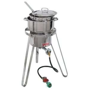 Bayou Classic® Sportsmans Choice Stainless Steel Cooker Kit