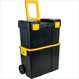 Trademark Global Stackable Mobile Tool Box with Wheels 75 3042