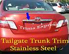 2007 2011 Toyota Camry Trunk Liscence Overlay Cover Trim Molding