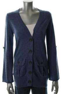Autumn Cashmere NEW Cardigan Blue Sale Misses Sweater S