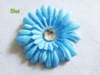 Lot of 100 daisy flower girl toddler baby hair bow clip