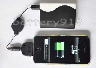 5600mah portable power PACK Backup battery for Iphone 4G 4GS 16GB 32GB