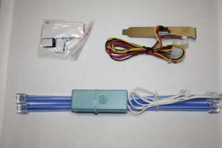 12 Blue Dual Cold Cathode Kit Brand New