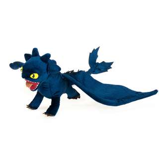 How to Train your Dragon Toothless NIGHT FURY Soft Plush Toy Stuffed
