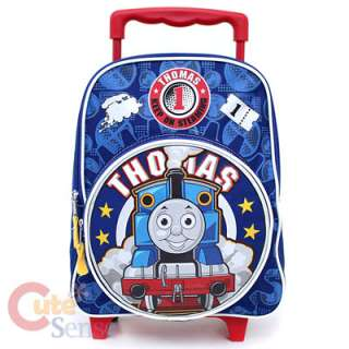 Thomas Tank Engine School Rolling Backpack Roller Bag 1