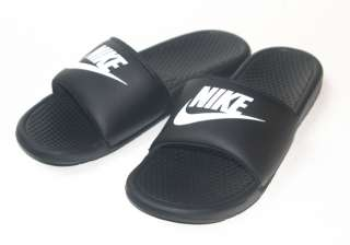 Nike Benassi JDI Mens Sandal Slide Black White All Sz