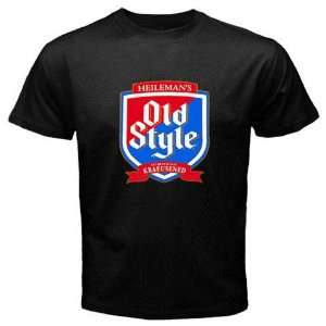 Chicago Cubs Cub Style Old Style Beer Logo New Black T shirt Size M