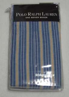 POLO RALPH LAUREN Mens Woven Boxer Shorts Authentic NIP