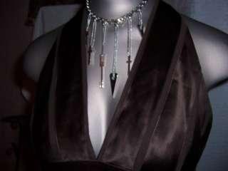 Beautiful Pianegonda Love Sick Necklace Hearts Cross Choker Silver