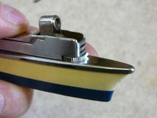 Wurzburg Sankei Butane Boat Ship Cigarette Lighter Table Lighter? Neat