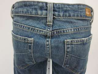 PAIGE HOLLYWOOD HILLS Medium Wash Cropped Jeans Sz 28