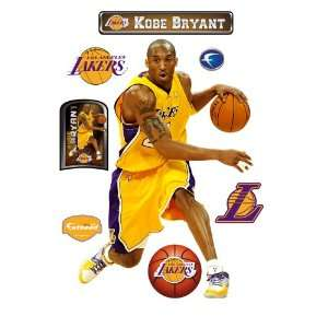 Kobe Bryant Los Angeles Lakers Wall Decal Sports