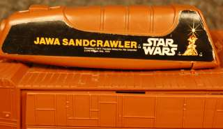JAWA SANDCRAWLER Vintage 1979 Star Wars Action Figure Vehicle w/Remote