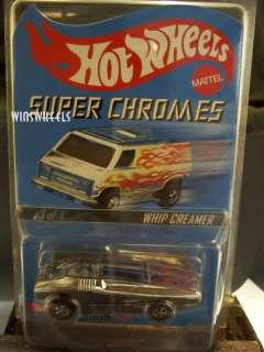 hot wheels 2003 RLC WHIP CREAMER SUPER CHROMES #02988