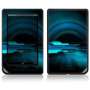 Color Decal Sticker Skin   Abstract Future Night Blue