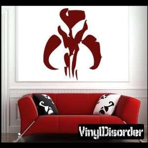 Boba Fett Skull Symbol Logo Starwars Star Wars Vinyl Decal