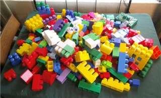 LOT OF MEGA BLOKS DUPLO BIG CHILDS KIDS TOY BUILDING BLOCK COLORFUL