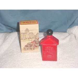 Avon Fire Alarm Box Bottle (empty)