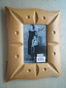 Solid Maple Wood Decorative Picture 4 x 6 Photo Frame