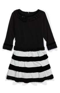 New NWT Isobella and Chloe Sz 14 Black & White Dress