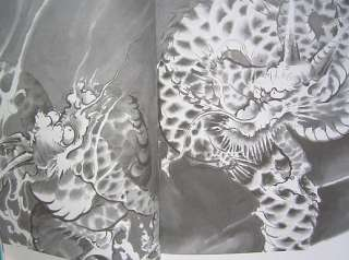 JAPANESE BOOK,TATTOO,DRAWING,FLASH,DRAGON,OUT OF PRINT