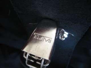 TUMI 23 BLACK BALLISTIC NYLON BI FOLD Carry On GARMENT TRAVEL BAG $