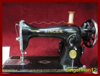 Industrial Strength Singer 15 89 Sewing Machine Heavy Duty great for