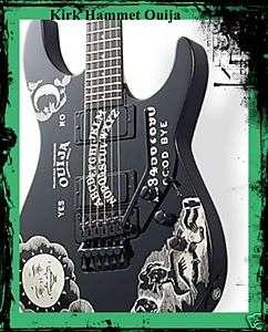 Kirk Hammett Ouija Guitar Body Vinyl Sticker Decals