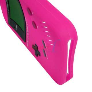 Nintendo Soft Silicone Case Cover Protector Game Boy For iPhone 4 4G