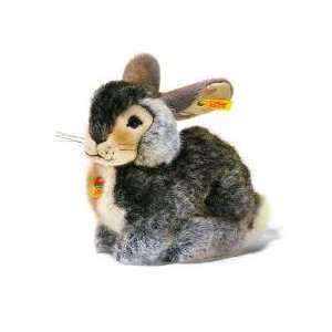 Steiff Dossy Pet Grey Rabbit: Toys & Games