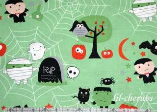 Boo To You Cute Green Boo Scene Ghost Halloween