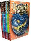 11 very popular Beast Quest Books young readers