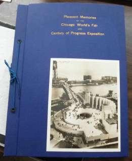 ORIGINAL SCRAP BOOK Century of Progress CHICAGO WORLDS FAIR 1933 34