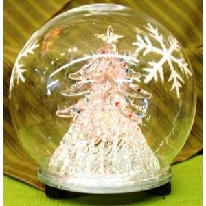 Lights up Christmas Tree Globe Bright Decor