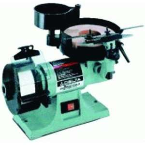 Sharpening Center with 8 Inch Horizontal Wet Wheel and 5 Inch Vertical