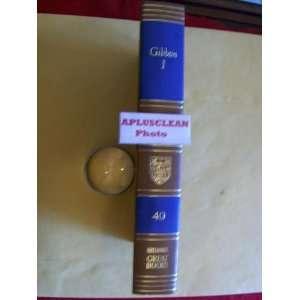 BRITANNICA GREAT BOOKS GIBBON VOLUME I #40 Mortimer J. Adler Books