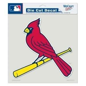 St. Louis Cardinals Die Cut Decal   8x8 Color